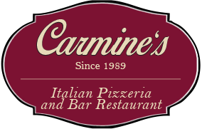 Carmine's Italian Pizzeria and Bar Restaurant Logo